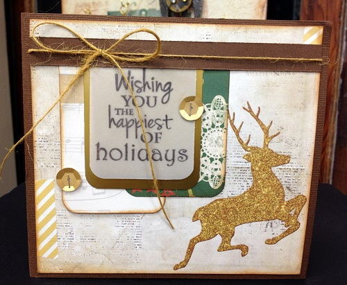 @cdnscrapbooker @nadinekaren #bobunny #christmas #card