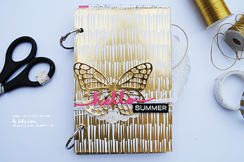 @cdnscrapbooker @cathycaines #stampinup #album #scrapbooking #summer