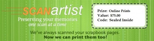 $75 Online Prints Prize Package