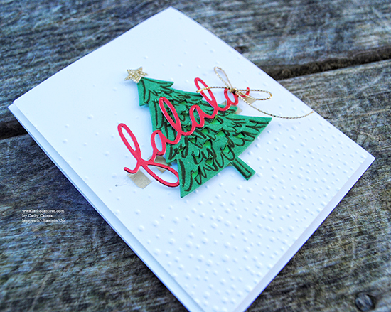 @cdnscrapbooker @cathycaines #scrapbooking #stampinup #christmas #card
