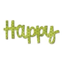 Happy Die - Sizzix