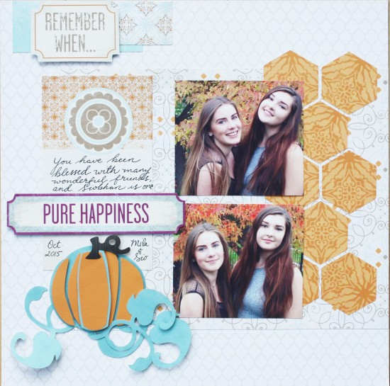 @kellycreates @cdnscrapbooker #scrapbooking #creativememories #fall #brotherscanncut #scanncut #pumpkin