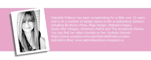 @cdnscrapbooker #bobunny #scrapbooking #gabriellepollacco #cards