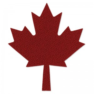 Sizzix maple leaf die