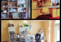 @cdnscrapbooker #WhereYouCreate #creativeSpace