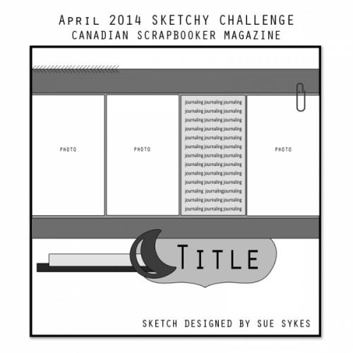 april sketch