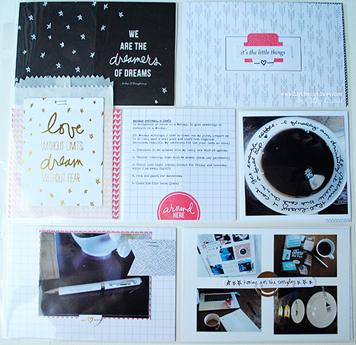 @cdnscrapbooker @cathycaines #scrapbooking #projectlife #stampinup