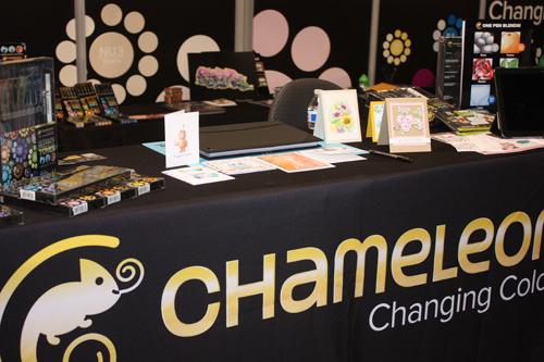 @cdnscrapbooker #chameleon #CHA2015