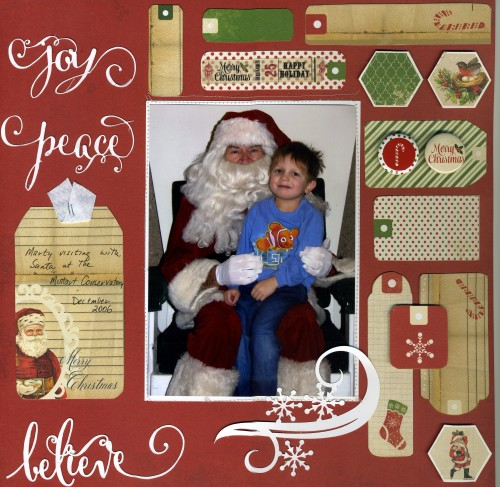 eclips christmas layout