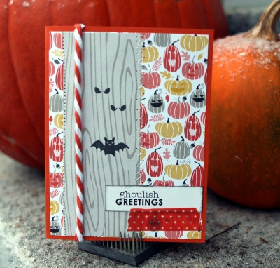 ghoulish card