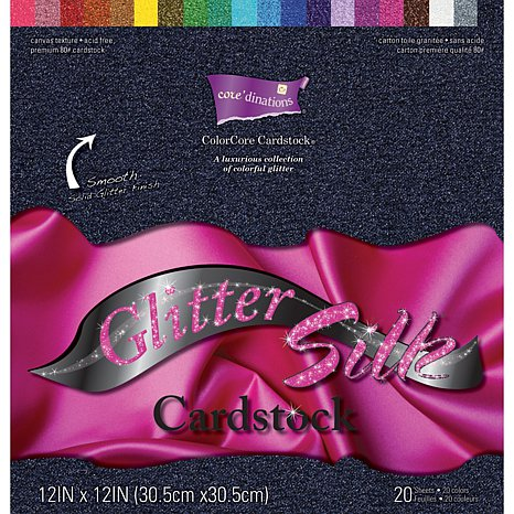 glitter silk