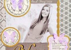 @cdnscrapbooker @kellycreates @quietfiredesign #stamping #scrapbooking #layout #graduation