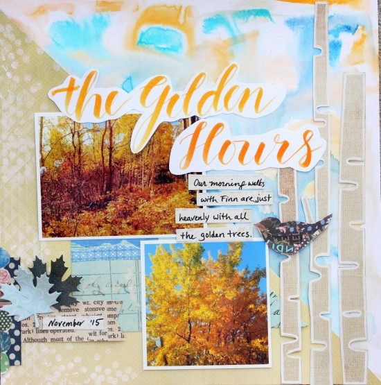 @cdnscrapbooker @kellycreates #scrapbooking #layout #Momenta #fall