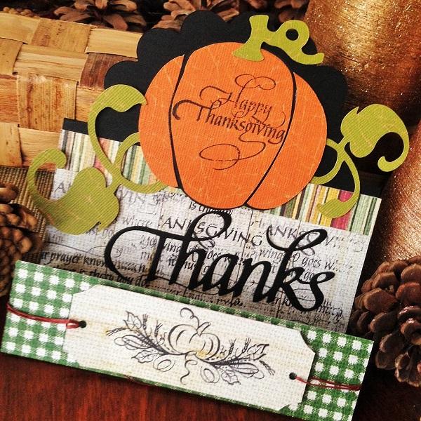 @kellycreates @cdnscrapbooker #card #cardmaking #thanksgiving #scrapbooking #stamping #quietfiredesign