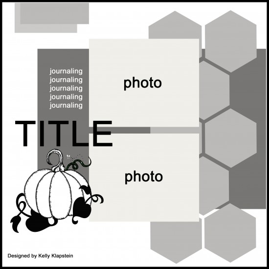 @cdnscrapbooker @kellycreates #scrapbooking #sketch #sketchychallenge #layout #october
