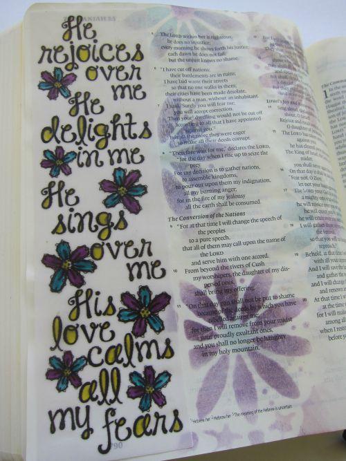 @cdnscrapbooker @marjolaine.walker #biblejournaling #journaling #bible #mixedmedia #faith
