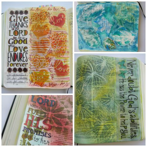 @cdnscrapbooker @marjolaine.walker #biblejournaling #journaling #bible #mixedmedia #faith