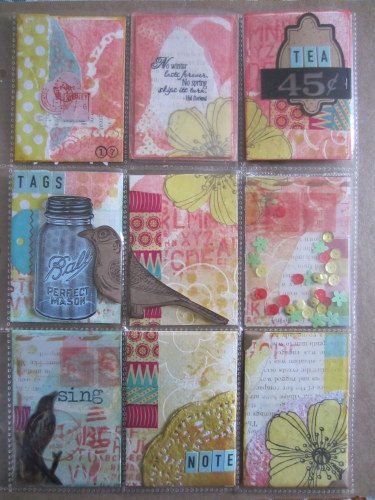 @cdnscrapbooker #scrapbooking #pocket #letters #pocketletter #mixedmedia