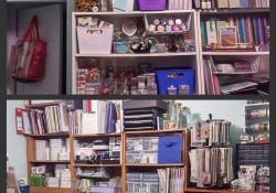 @cdnscrapbooker #whereyoucreate #DianeKohl #creative space