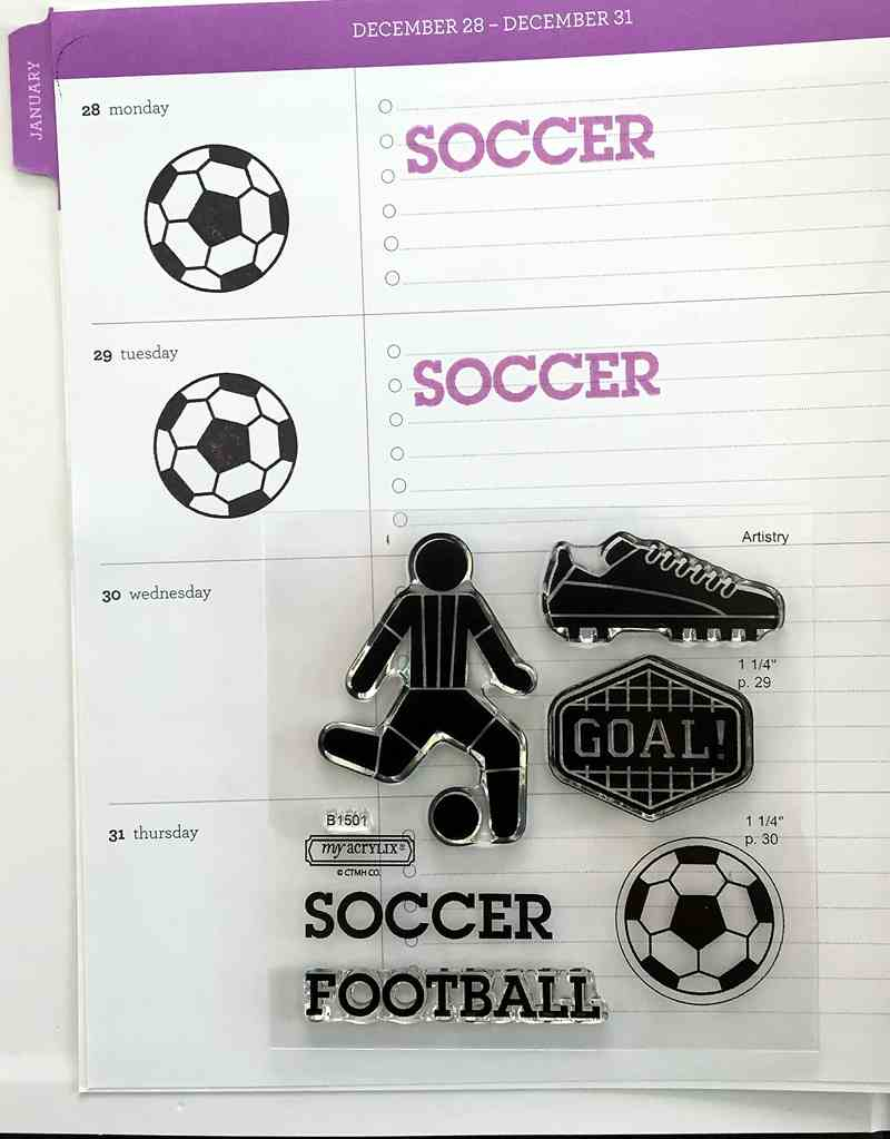 soccer stamps